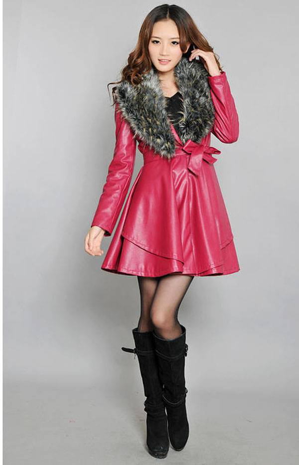 Compare Prices on Lady Leather Coat- Online Shopping/Buy Low Price ...