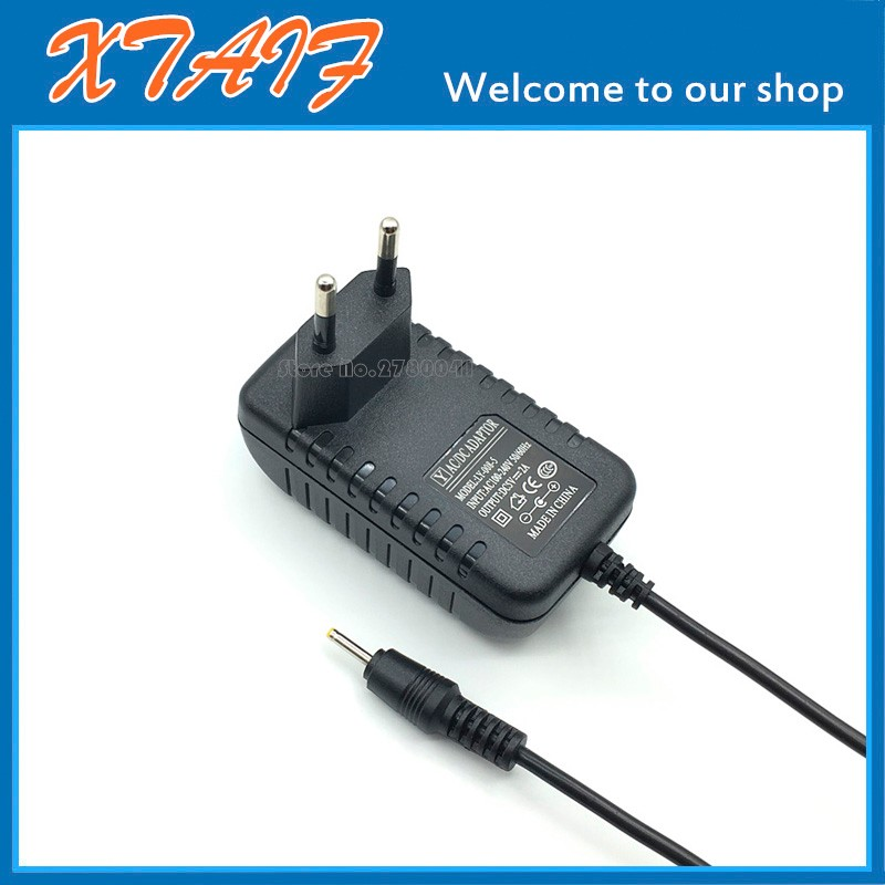 6V DC 1A 1000mA AC Adapter Power Supply Cord Charger 2.5mm 0.7mm Plug Tip