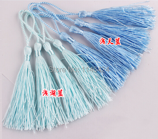 Free Shipping 100pieces 13CM Chinese Knot Accessories Crafts Tassel Trimming For Home Texile Garment(China (Mainland))