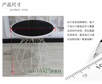 три Тан ikea диван современного творческого края металла стекла журнальный столик кофе таблицы несколько углов несколько спец