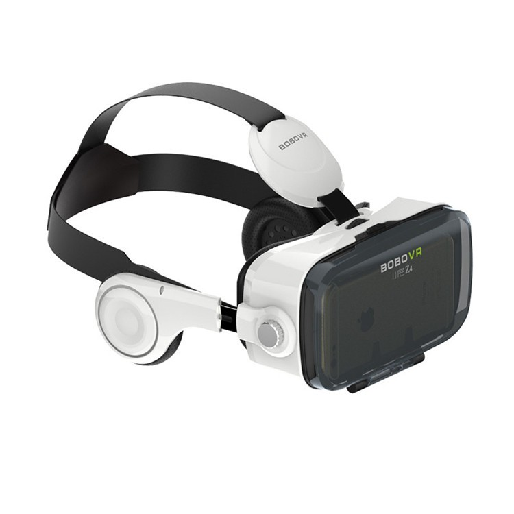 BOBOVR Z4 Virtual Reality Goggles Mobile 3D Video Glasses VR Headset Cardboard for iPhone Android 4.7-6″+Bluetooth Controller
