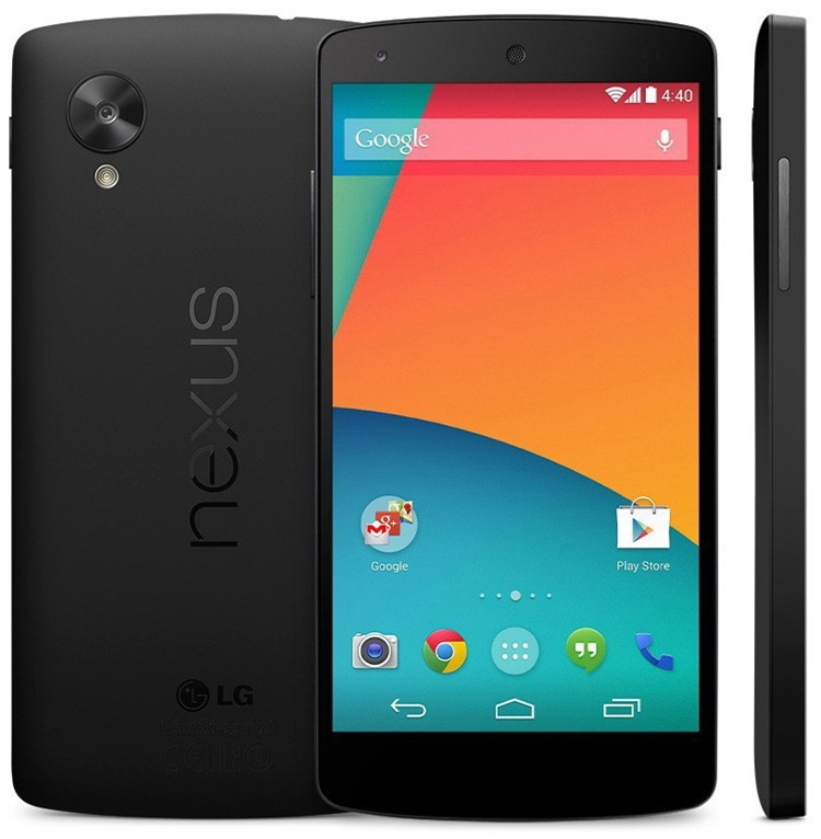 Original LG google Nexus 5 16 GB 32 GB desbloqueado 4 G lte D820 D821 android 5.0 4.95 '' 8MP Quad core RAM 2 GB celular recuperado(China (Mainland))