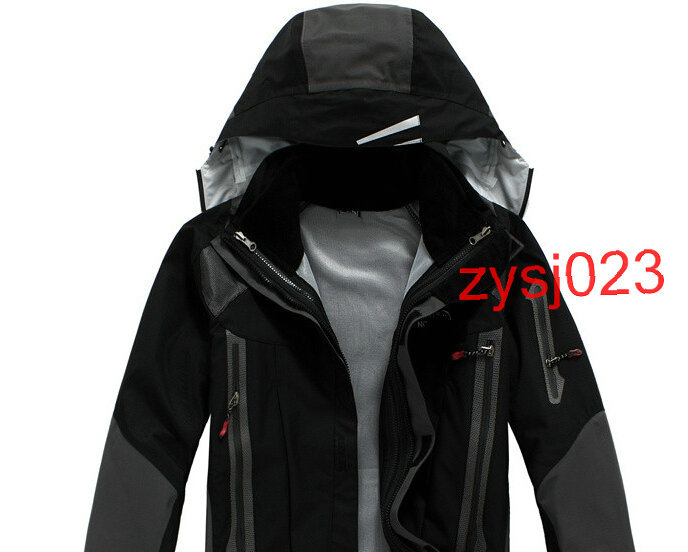 Discounts promotion Waterproof windproof warm men's skiing face jacket Outdoor clothing for men Climbing Jackets zysj023(China (Mainland))