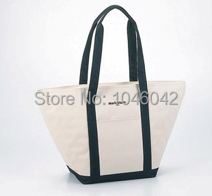 Thermal lunch bag insulated cotton tote Large cooler bag outdoor picnic fashion women shopping handbag(China (Mainland))