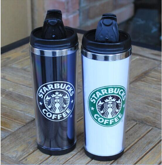 Creative Stainless Steel Coffee Thermos Cup 420ml Thermos Mug Thermo Mug Thermal Bottle Thermocup coffee with(China (Mainland))