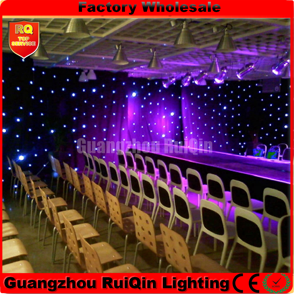 3.6mx20m led star curtain for big stage backdrops,DMX wedding equipments,tv show backdrops by DHL to Norway(China (Mainland))