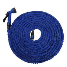28M Water Hose for Garden and Car Pipe Water valve+ spray Gun With EU or US connector(China (Mainland))
