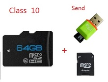 Best 64GB  Micro SD card Real capacity TF card class 10 Memory card(China (Mainland))
