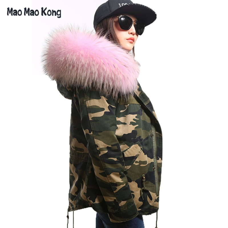 Online Get Cheap Camouflage Jacket Women Green Fur -Aliexpress.com ...