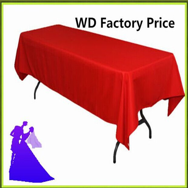 Big Discount !!! 10pcs 150*320cm Rectangleblue table cloth 180GSM For Wedding Events &Hotel & Banquet Free shipping(China (Mainland))