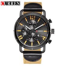 CURREN  watches men Top Brand fashion watch quartz watch male relogio masculino men Army sports Analog Casual 8194