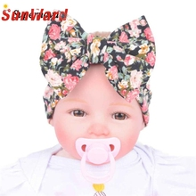 Buy Hot 4Colors Plus Bowknot Flower headband newborn girl Headbands Photography Props hair accessories Girl hair band WSep7 for $1.03 in AliExpress store