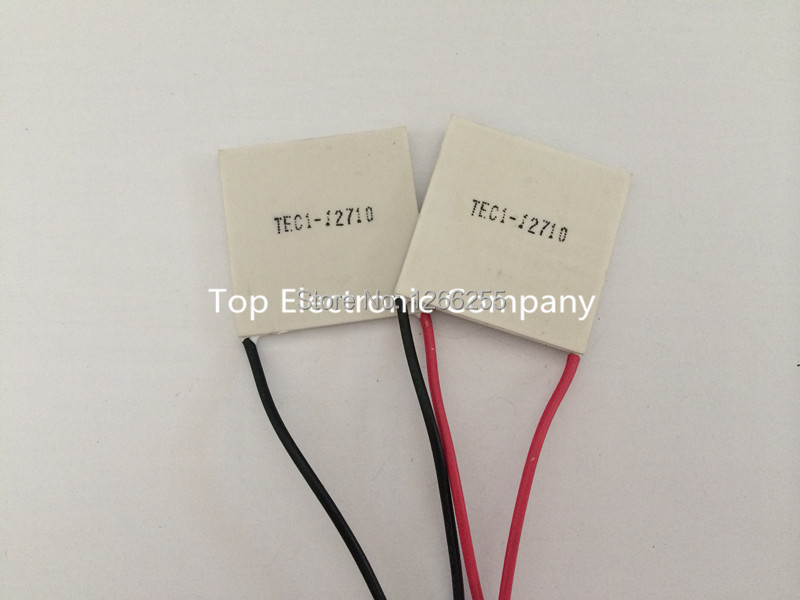 Free shipping New TEC1-12710 DC12V 10A Thermoelectric Cooler Peltier 40*40*3.2MM(China (Mainland))