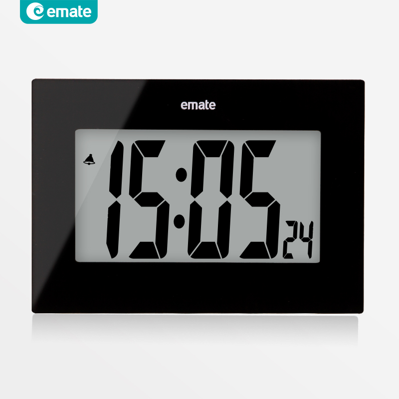 Large screen clock big number digital clock wall clock for Country living customer service number