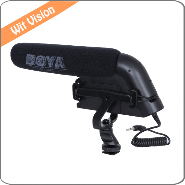 Здесь можно купить  Professional BOYA BY-VM200P Condenser shotgun microphone for Camcorders Camera Canon Nikon  Бытовая электроника