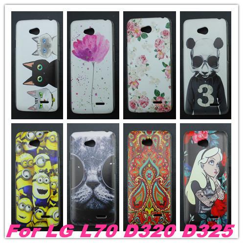 Гаджет  Painting PC hard Cover Case For LG Optimus L70 L65 D325 MS323 D329 D320N D285 D280 L 70 65 Lots of Design None Телефоны и Телекоммуникации
