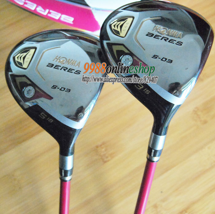 New womens Golf clubs Honma Beres s-03 Golf Fairway Wood 3/15 5/18 ARMRQ8 3 star Graphite shaft &amp;wood HeadCover Free Shipping<br><br>Aliexpress