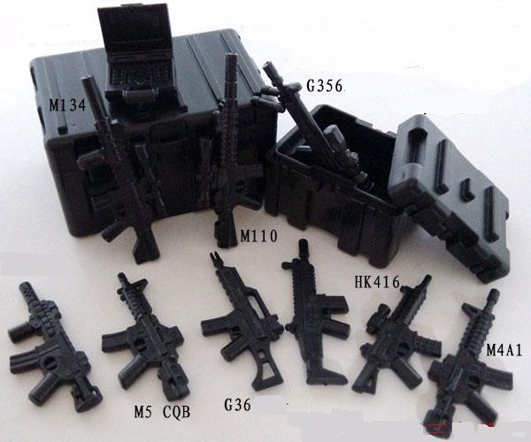 Swat weapon Third-party Minifigures original toy police military tactical weapons accessories Compatible legoelieds Swat(China (Mainland))
