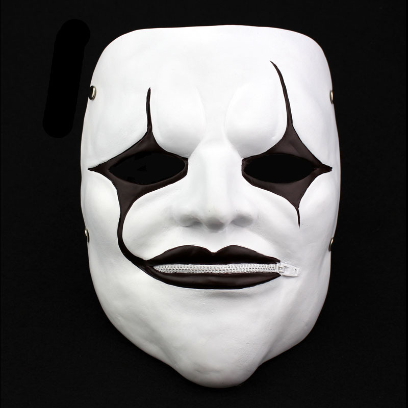 Halloween Gift Slipknot Jim Root Movie Theme Cosplay Masquerade Ghoul Scary Ghost Skull Party Home Decoration Resin Mask(China (Mainland))