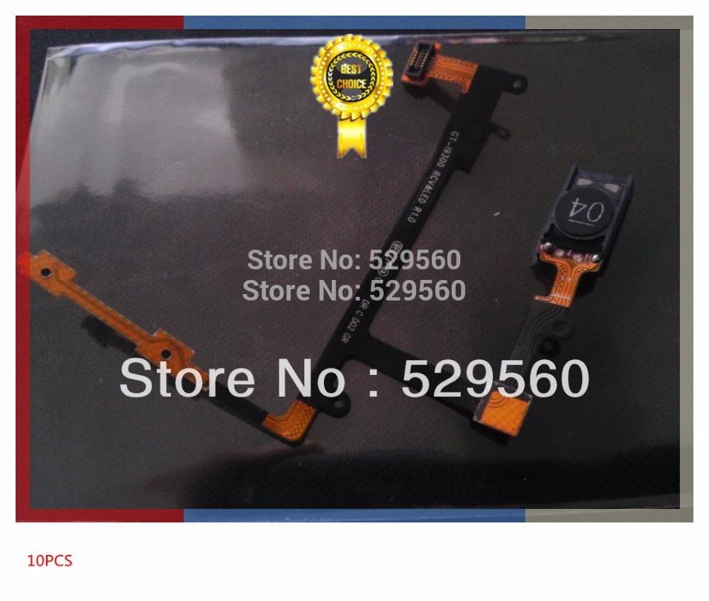 Первоначально новый для Samsung Галактика s 3 i9300 из III в динамик наушника с регулятором громкости кнопка Flex кабель + 10 шт / уп