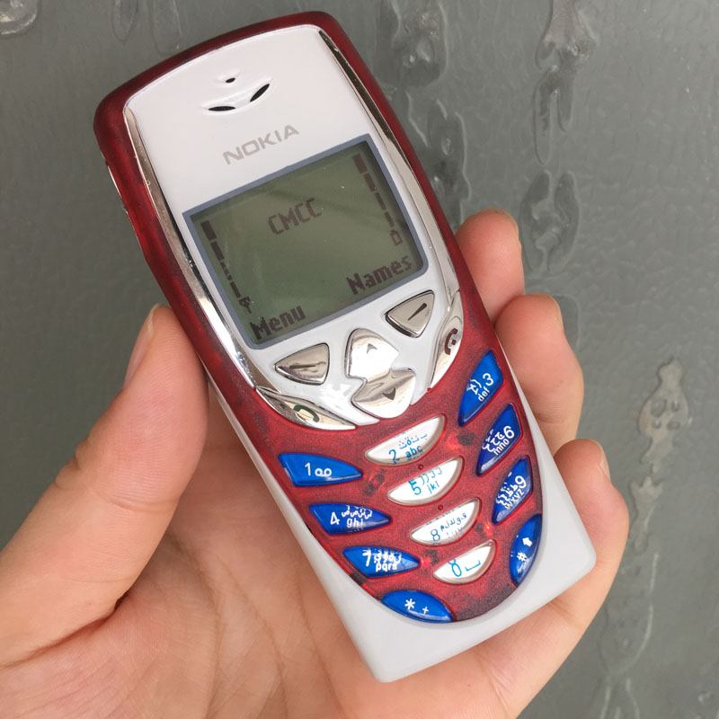 Original Nokia 8310 Mobile Cell Phone 2G GSM 900/1800 Unlocked Arabic Keyboard 8310 Red Refurbished(China (Mainland))