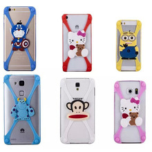 silicon cartoon case for iphone 6s case cover silicone soft transparent 3d brand for apple logo cat cute back animal cases armor