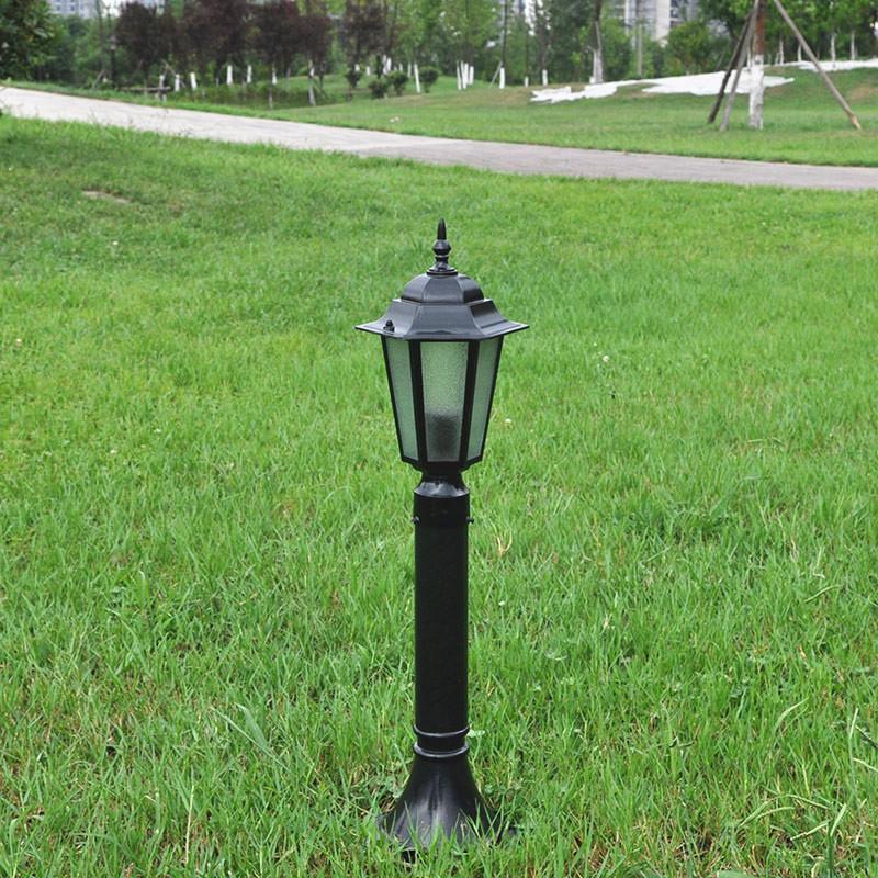 Continental classic waterproof outdoor park small hexagon lawn lamp villa garden landscape lights pillar D<br><br>Aliexpress