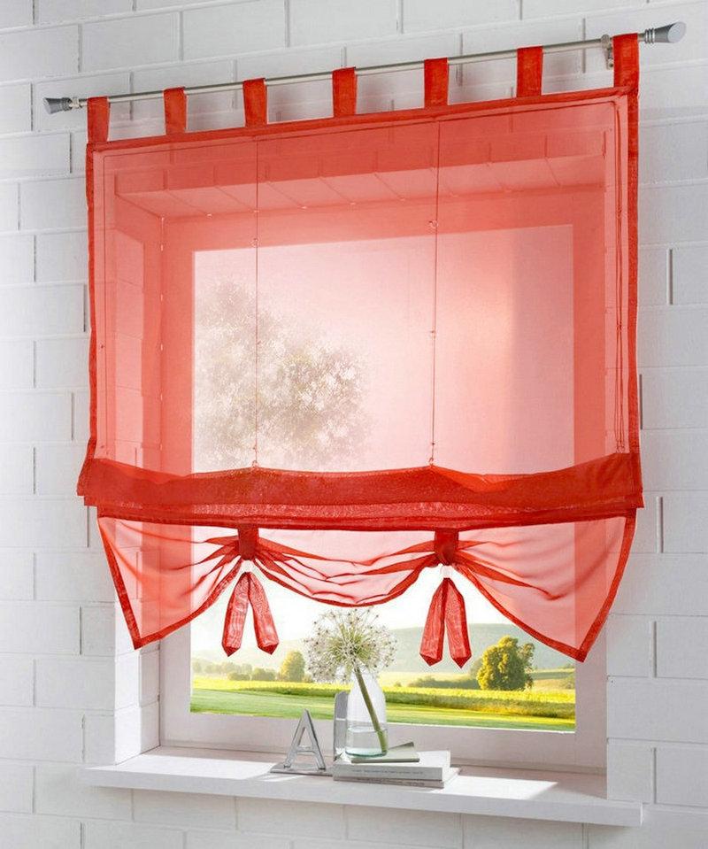usine prix nouveau solide couleur top tab cuisine balcon voile romain stores relevable rideau 1. Black Bedroom Furniture Sets. Home Design Ideas