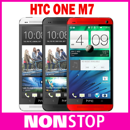 Original HTC One M7 Unlocked metal shell 32GB GPS 3G 4G WIFI 4.7''TouchScreen 4MP camera Andriod 4.3 Cell Phone Refurbished(China (Mainland))