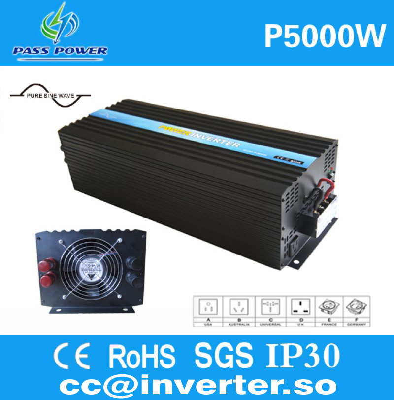 2015 hot selling, pure sine wave, 5kw solar inverter, CE&RoHS&GMC&SGS Approved(China (Mainland))