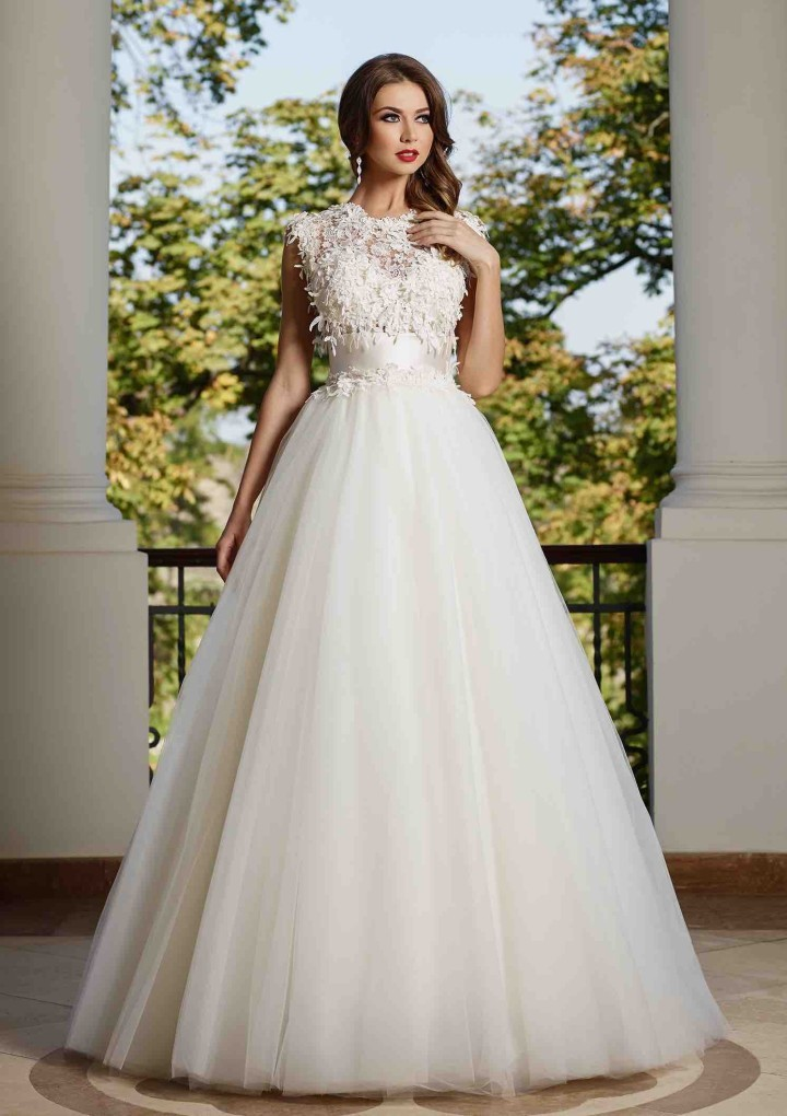 High End Princess Bridal Dress 2016 Ribbon Bow Lace Delicate Appliques Custom Made Modest ...