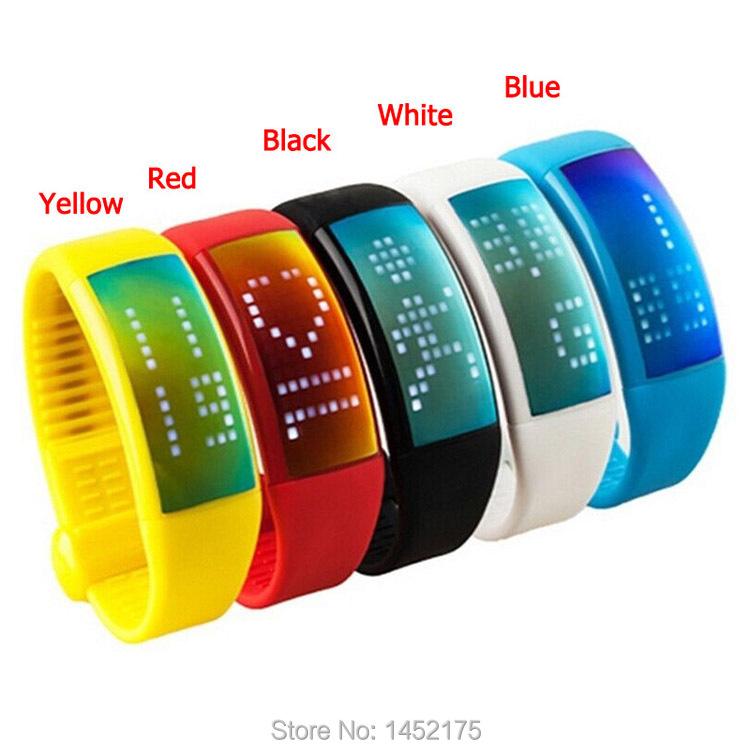 3D podomètre étape compteur de Calories de surveillance contre activité Tracker Bracelet Bracelet montre avec Signature fonction 8 G USB(China (Mainland))