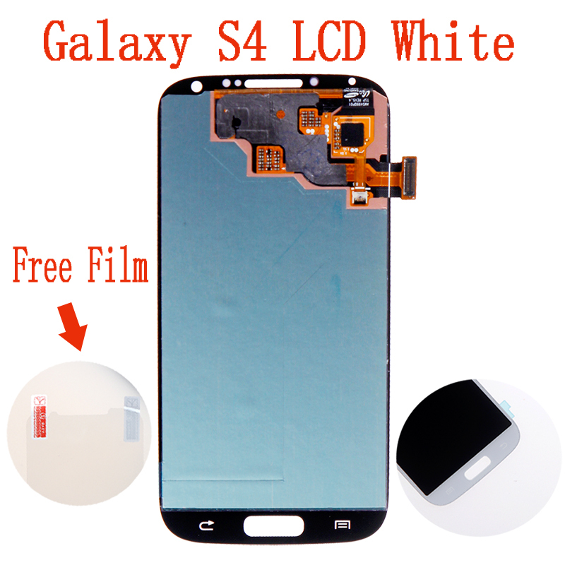 100% Test LCD Display For Samsung Galaxy S4 IV I9500 I9505 LCD With Touch Screen Digitizer Assembly White Free Shipping(China (Mainland))