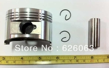 Free Shipping Piston Kit GY6 57.4 pin 15mm scooter part