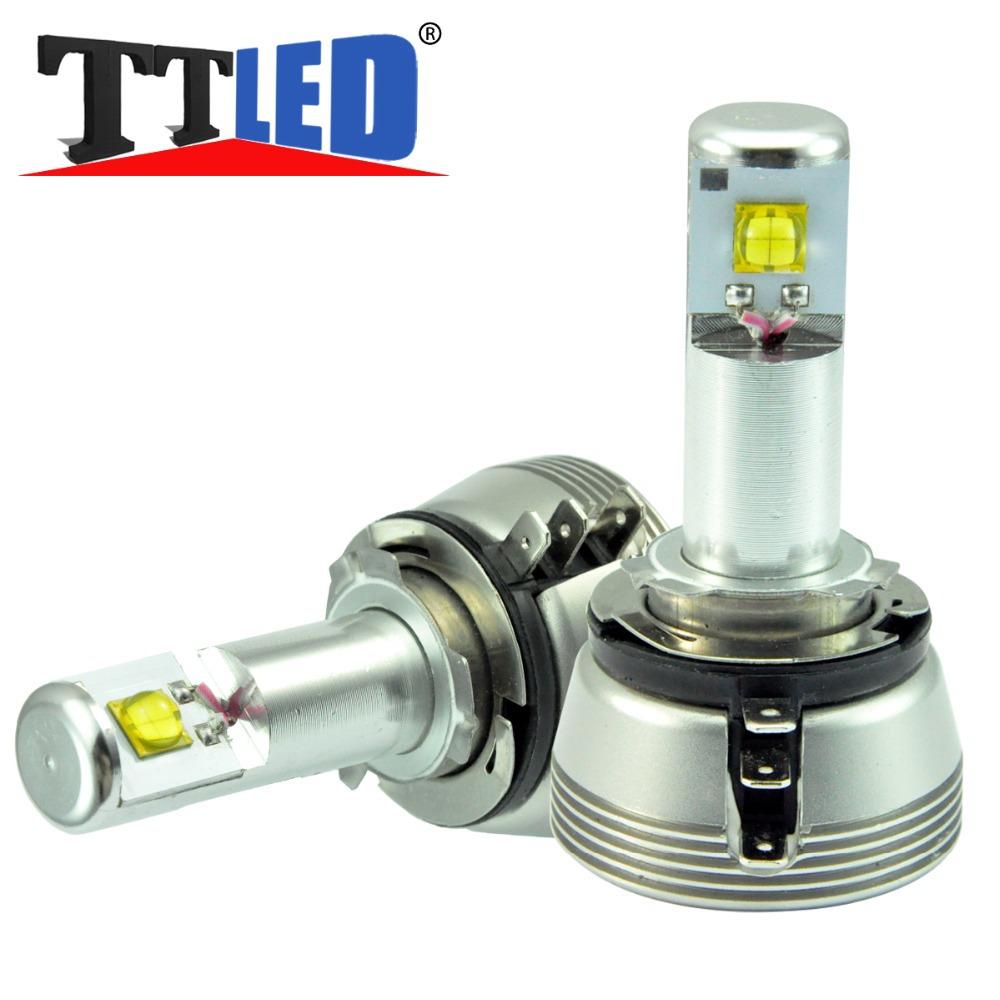 2pcs H15 9012 H11b 7070 Cree Led Headlight Bulb Low Beam For Dodge Ram 1500