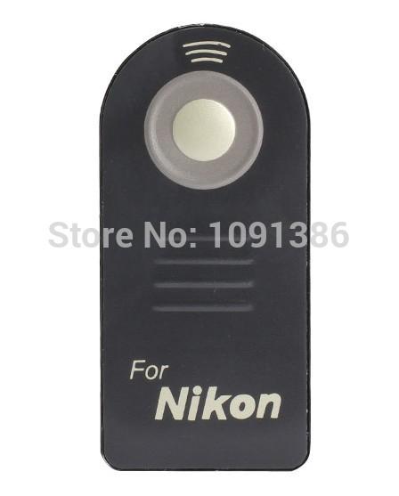 ML-L3 ML L3 IR Wireless Remote Control Release For Nikon D7000 D5100 D5000 D3000 D90 D80 D70S D70 D50 D60 D40 D40X 8400 Camera(China (Mainland))