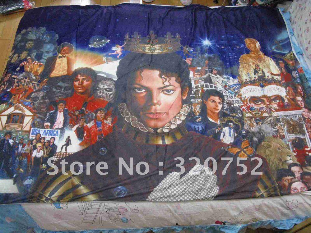 livraison gratuite michael jackson derni 232 res nouvelles drap de lit couverture 59 05in x 78 74in