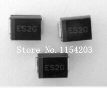 50PCS Fast recovery diode ES2G EG SMB 2A 400V DO-214AA(China (Mainland))