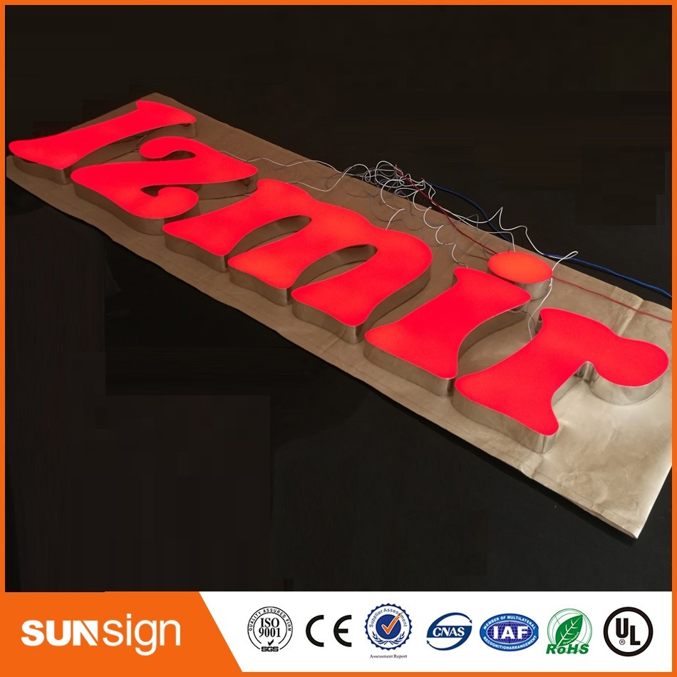 Aliexpress custom LED channel letter signs led signage outdoor(China (Mainland))