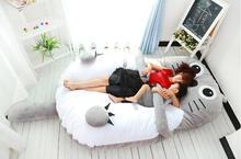 Мебель для спальни наматрасник диван кама кровать 160 см * 210 см ( 290 см в том числе хвост ) 10 кг тоторо татами мультфильм диван кровать Высокое качество