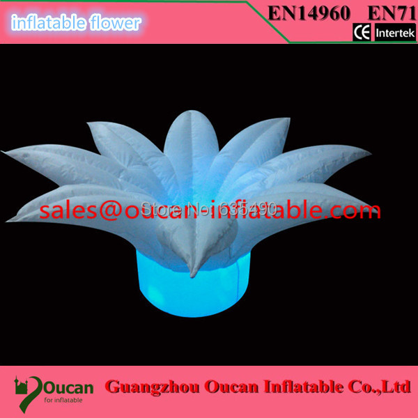 free shipping inflatable led flowers fo advertising, inflatable flower wedding(China (Mainland))