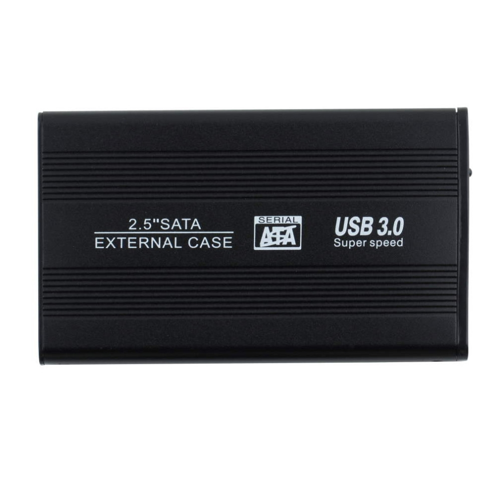 "Jumping Price 2.5"" USB 3.0 HDD Case Hard Drive SATA External Enclosure Box New Free Shipping(China (Mainland))"