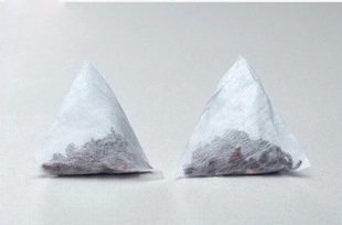 pyramid biodegradable tea bags(China (Mainland))