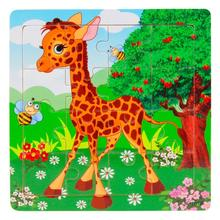 Modern Animals Puzzle Wooden Panda Jigsaw Toys For Kids Education And Learning Puzzles Toys Feb16(China (Mainland))