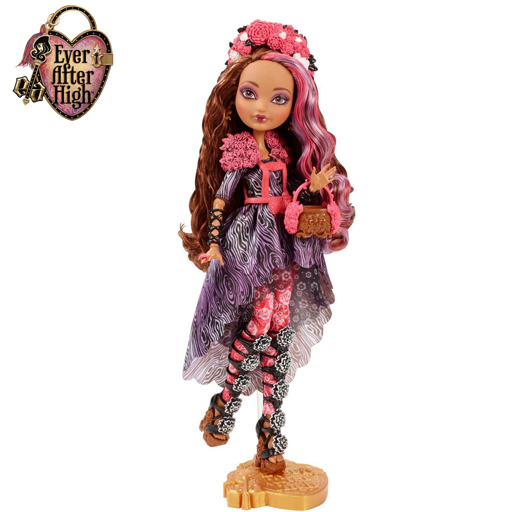 Genuine Original Ever After High Spring Unsprung Cedar Wood Doll plastic toys Best gift for girl Free shipping new<br><br>Aliexpress