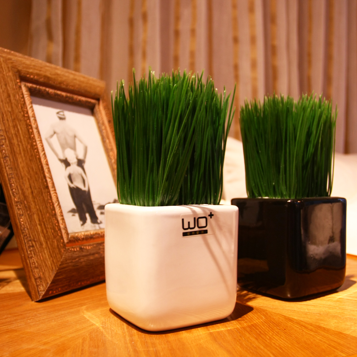 Compare prices on decorative wheat grass online shopping for Artificial grass decoration