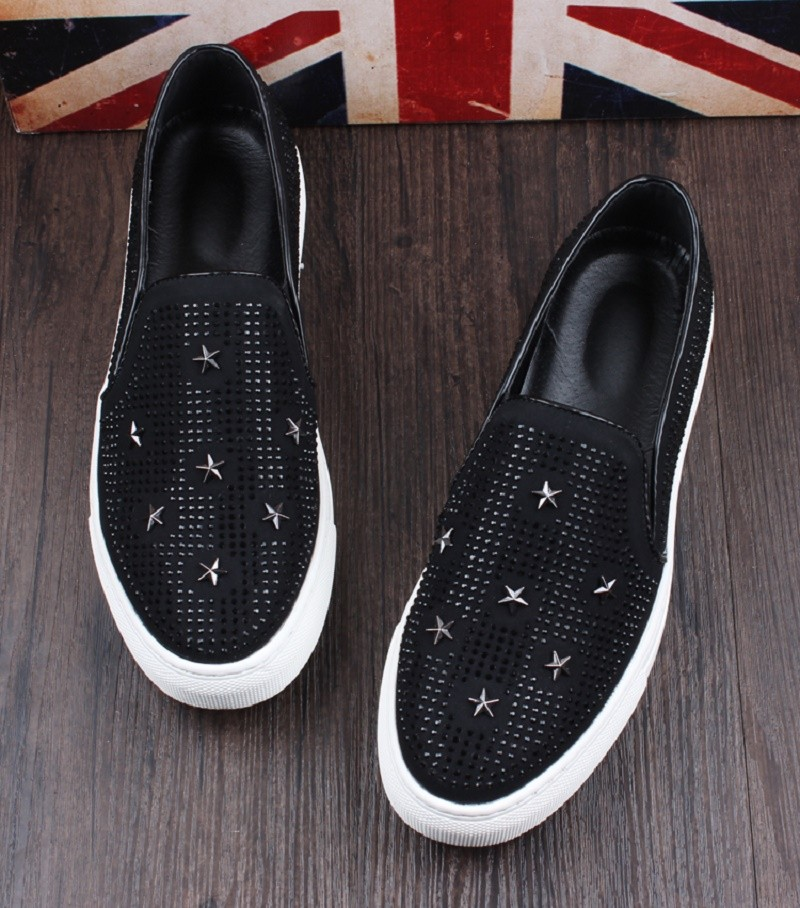 New shoes men luxury chaussure homme genuine leather shoes mens loafers leather