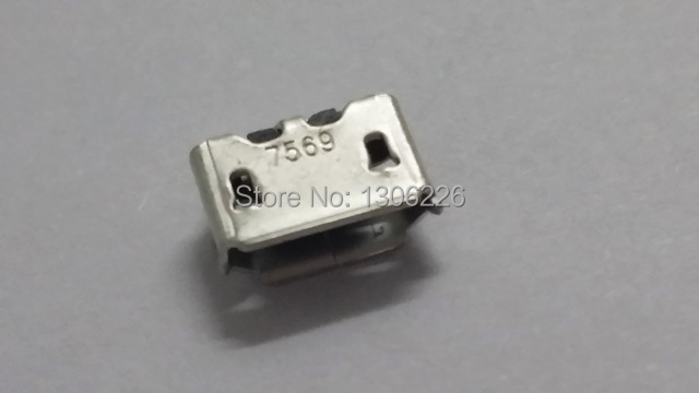 Free shipping Original Brand new Micro USB Charger Charging Port Connector for BlackBerry 8520 Curve 9700(China (Mainland))