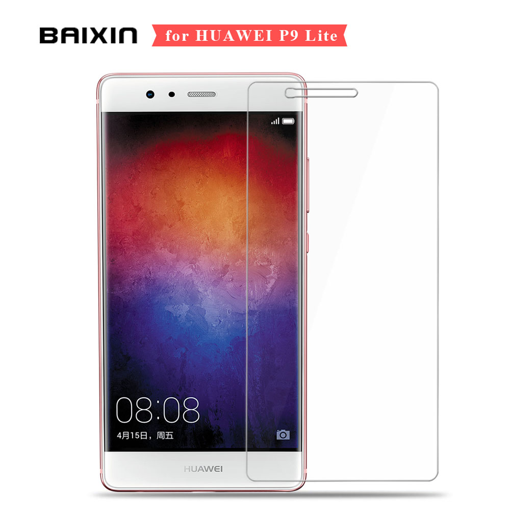 For Huawei P9 Lite 9H 2.5D Premium Tempered Glass For Huawei P9 Lite G9 mini Screen Protector For Huawei P9 Lite Film Cover Case(China (Mainland))