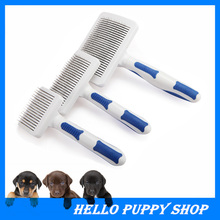 Pet Supplies Products Stainless Steel Dog Brush Hair Cleaning Steel Comb Dogs Cats Styling Combs Free Shipping